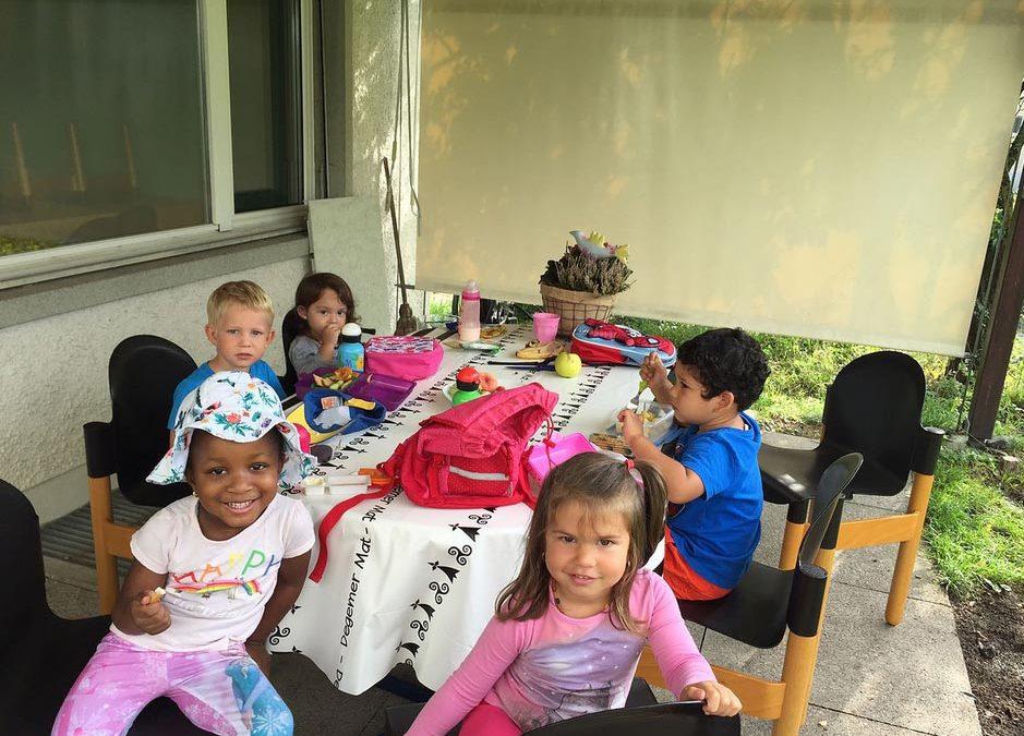 Freie Plätze am Mittagstisch im Familienzentrum Mittelpunkt Turgi