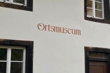 Besuch im Ortsmuseum